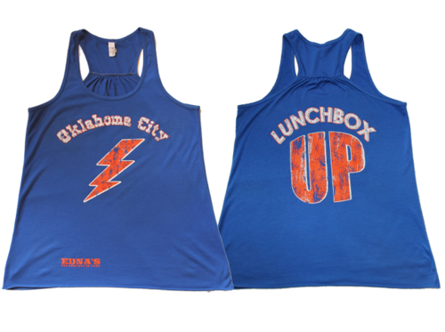"Edna's Women's  ""Lunchbox Up"" Tank"